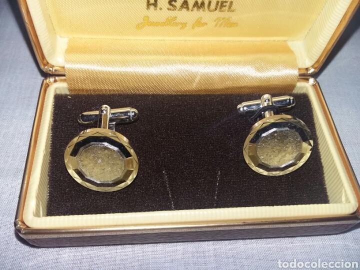 GEMELOS - SAMUEL - CAR03 (Antigüedades - Moda - Gemelos Antiguos)