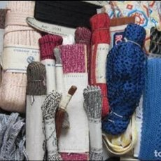 Antiquitäten - 30 Piezas de cintas distintas texturas y colores - 97943919