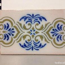 Antigüedades: BALDOSA RAJOLA CENEFA . Lote 97957059