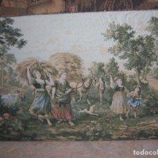 Antigüedades: TAPIZ ANTIGUO GRANDE. Lote 97970975