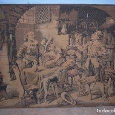 Antigüedades: TAPIZ ANTIGUO GRANDE. Lote 97970995