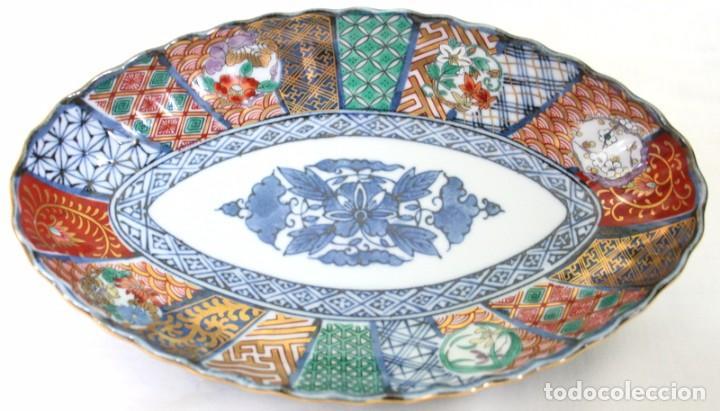 ANTIGUO PLATO DE PORCELANA JAPONESA IMARI (Antigüedades - Porcelana y Cerámica - Japón)