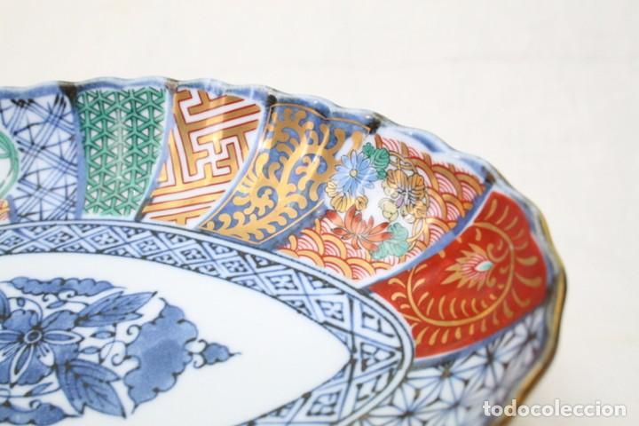 Antigüedades: antiguo plato de porcelana japonesa imari - Foto 5 - 118261846