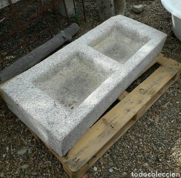 Fregadero de piedra de granito de dos senos comprar - Fregadero de granito ...