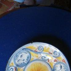 Antigüedades: PLATO CERAMICA DE RIBESALBES S. XVIII.. Lote 98027192