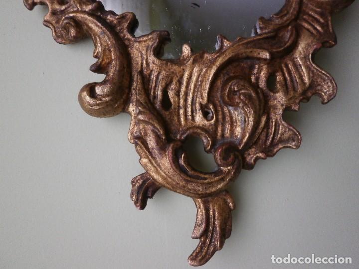 Antigüedades: ESPEJO CORNUCOPIA. SIGLO XIX. - Foto 5 - 98067215