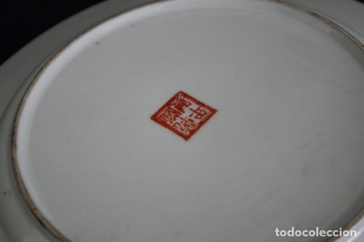 Antigüedades: plato de imari, porcelana japonesa antigua - Foto 5 - 98073219