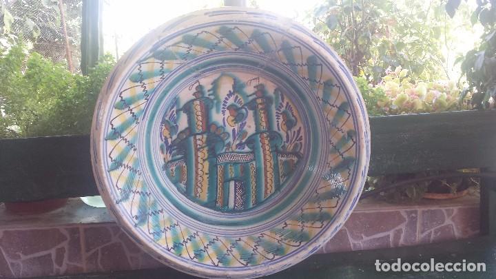 ANTIGUO LEBRILLO DE TRIANA, (Antigüedades - Porcelanas y Cerámicas - Triana)