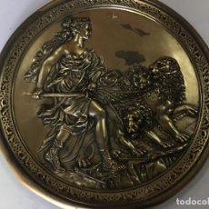 Antigüedades: BANDEJA DE COBRE O BRONCE. Lote 98115895