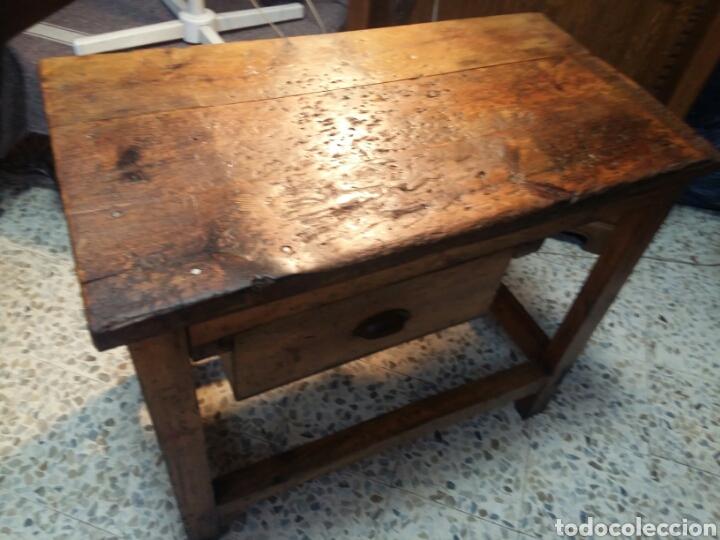 MUEBLE RÚSTICO ANTIGUO DE TIENDA (Antigüedades - Muebles Antiguos - Auxiliares Antiguos)