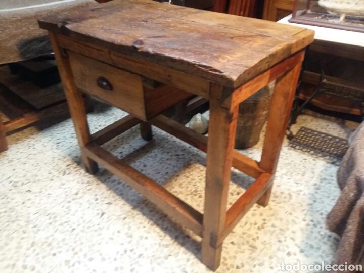 Antigüedades: Mueble rústico antiguo de tienda - Foto 2 - 98127071