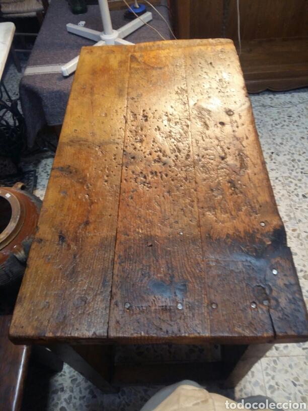 Antigüedades: Mueble rústico antiguo de tienda - Foto 3 - 98127071