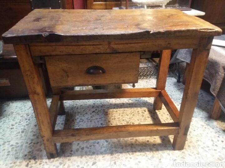 Antigüedades: Mueble rústico antiguo de tienda - Foto 4 - 98127071