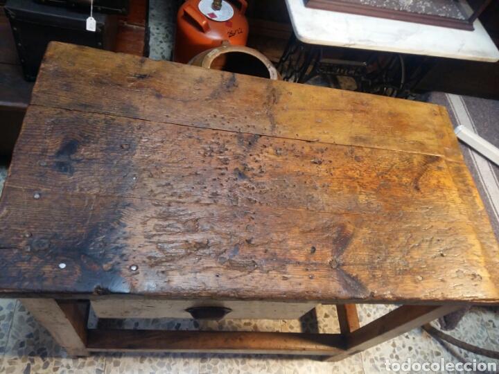 Antigüedades: Mueble rústico antiguo de tienda - Foto 5 - 98127071