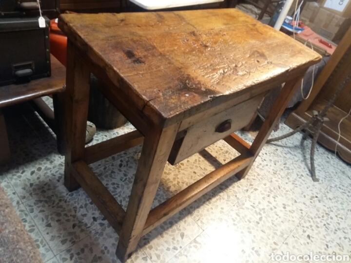 Antigüedades: Mueble rústico antiguo de tienda - Foto 6 - 98127071