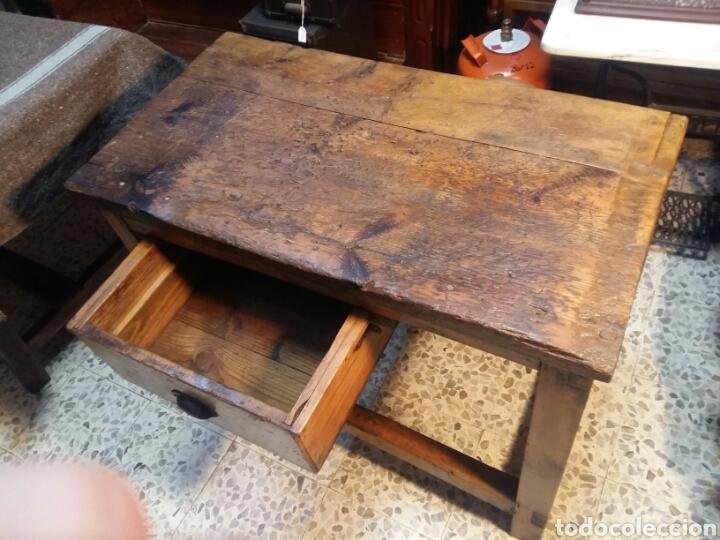 Antigüedades: Mueble rústico antiguo de tienda - Foto 9 - 98127071