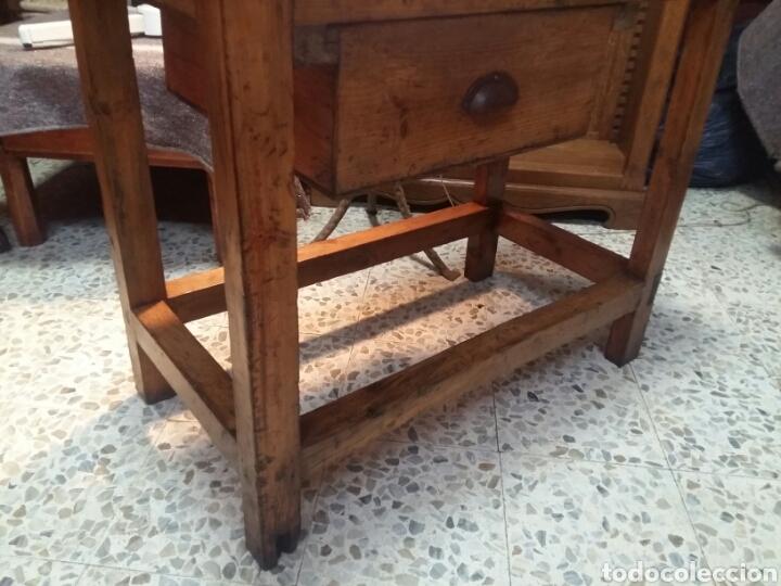Antigüedades: Mueble rústico antiguo de tienda - Foto 10 - 98127071
