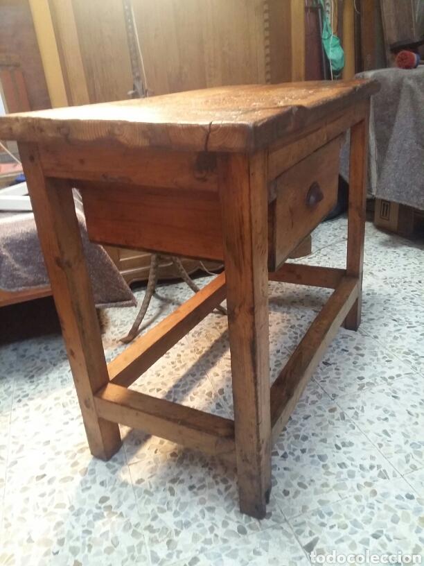 Antigüedades: Mueble rústico antiguo de tienda - Foto 11 - 98127071