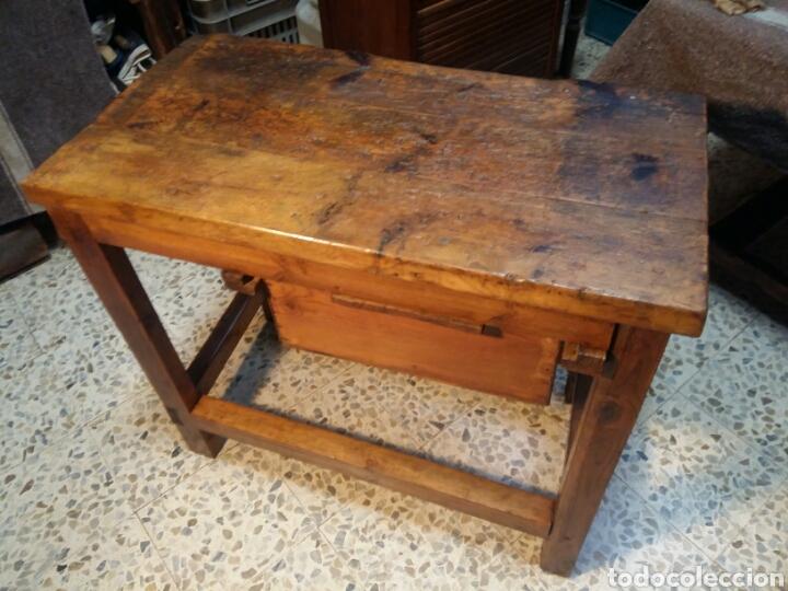 Antigüedades: Mueble rústico antiguo de tienda - Foto 12 - 98127071