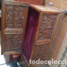 Antigüedades: ARCÓN CASTELLANO ANTIGUO. Lote 98135131
