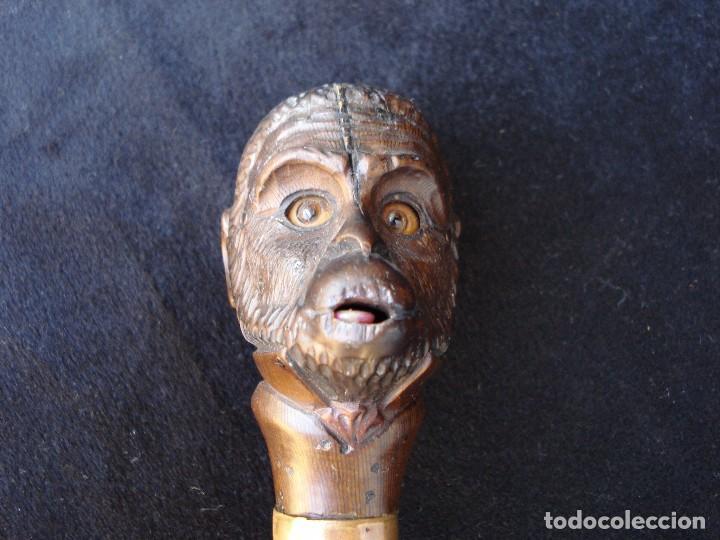 Antigüedades: BASTÓN AUTÓMATA, SIGLO XIX - Foto 6 - 98154711