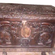 Antigüedades: ARCA DE CEDRO ANTIGUA. Lote 98168059