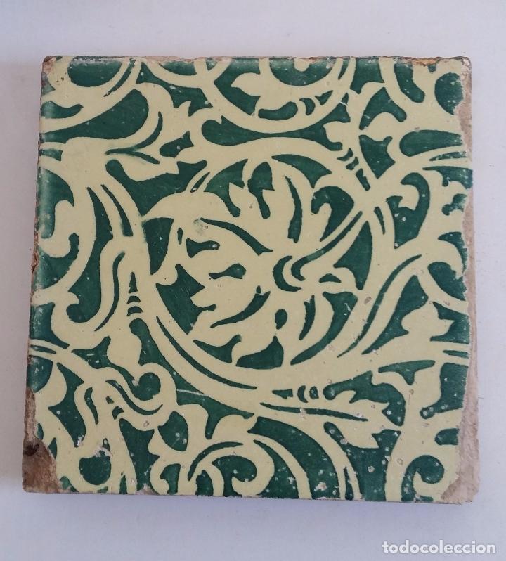 Antigüedades: Antiguo azulejo modernista - valencia - Foto 2 - 98206123