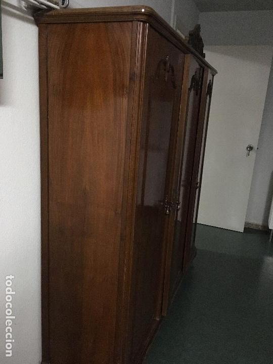 Antigüedades: ARMARIO ANTIGUO DE DESPACHO - Foto 6 - 98206575