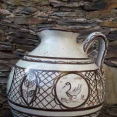 Antigüedades: AGUAMANIL,CÁNTARO EN CERÁMICA. Lote 98207991