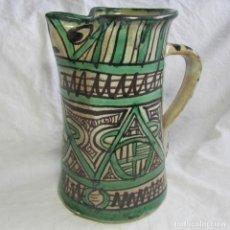 Antigüedades: JARRA DE CERÁMICA DE TERUEL PUNTER. Lote 98208203