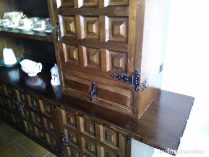 Antigüedades: aparador estilo castellano. - Foto 10 - 97337002