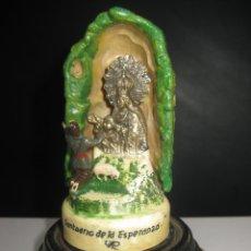 Antigüedades: IMAGEN FIGURA REPRESENTACION APARICION SANTUARIO VIRGEN DE LA ESPERANZA CALASPARRA MURCIA. Lote 98239035