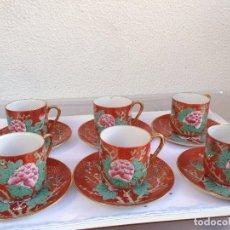 Antigüedades: 6 TAZAS CAFE. Lote 98261835
