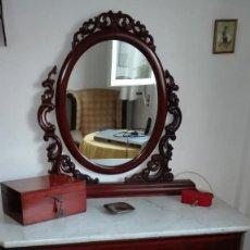 Antigüedades: TOCADOR DE CAOBA CUBANA DEL SIGLO XVIII. Lote 98359435