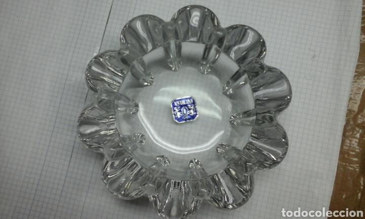 Antigüedades: Cenicero cristal.INCRISA.transparente - Foto 2 - 98383222