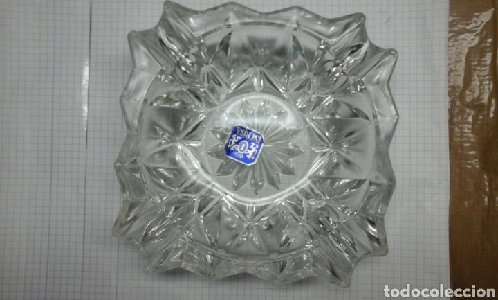 CENICERO CRISTAL.INCRISA.TRANSPARENTE (Antigüedades - Cristal y Vidrio - Catalán)