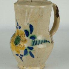 Antigüedades: JARRA EN CERAMICA MANISES SIGLO XIX. Lote 98384455