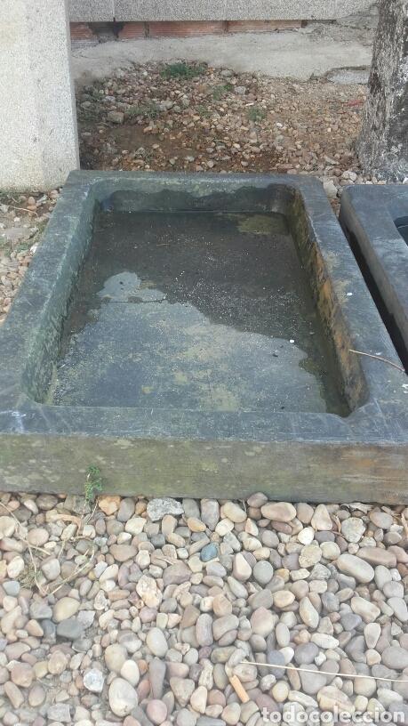 Fregaderos antiguos de piedra antigedades antigua pila - Fregaderos de piedra antiguos ...