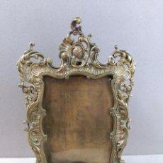 Antigüedades: MARCO PORTAFOTOS EN BRONCE, DE SOBREMESA. Lote 98495175