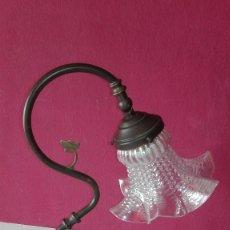 Antigüedades: LAMPARA MODERNISTA ARTICULADA. Lote 98540071