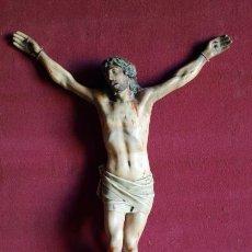 Antigüedades: CRISTO OLOT. C 1900. Lote 98587815
