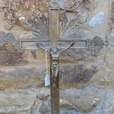 Antigüedades: CRISTO CRUCIFIJO. BRONCE. C 1900. Lote 98588215