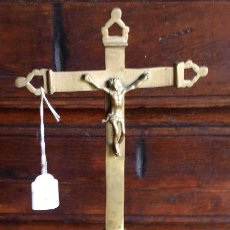 Antigüedades: CRISTO CRUCIFIJO. BRONCE. S XVIII. Lote 98588303