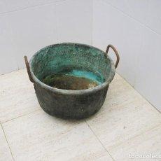 Antigüedades: ANTIGUA CALDERA DE COBRE.. Lote 98598687