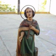 Antigüedades: SANTO CON CRUZ. Lote 98627351