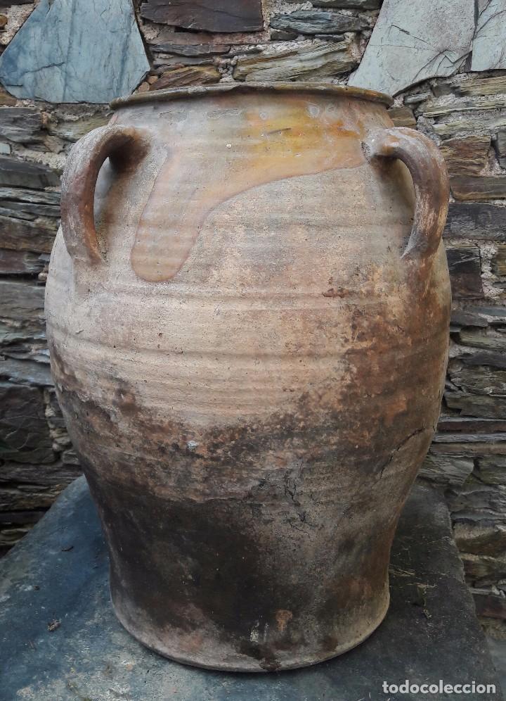 TINAJA ,ORZA EN CERÁMICA CASTELLON, TERUEL (Antigüedades - Porcelanas y Cerámicas - Otras)