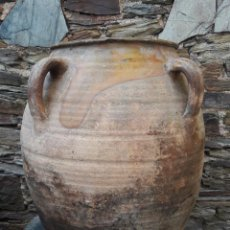 Antiguidades: TINAJA ,ORZA EN CERÁMICA CASTELLON, TERUEL. Lote 98641095