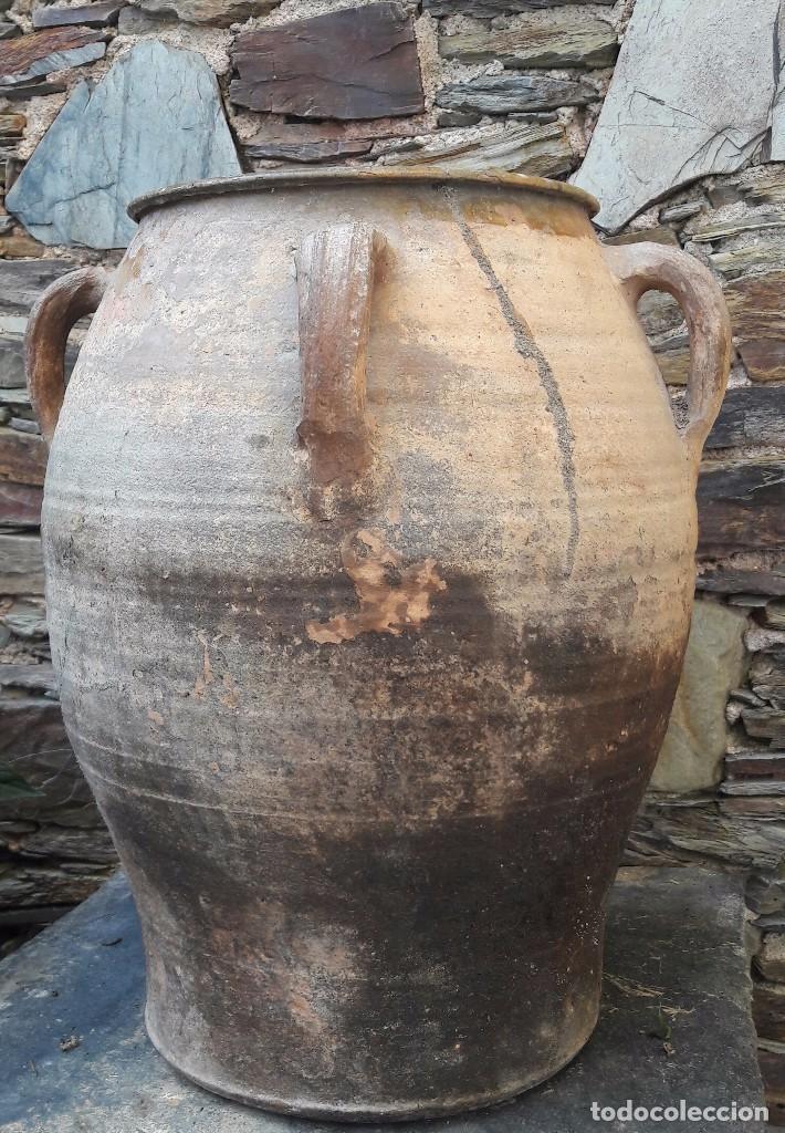 Antigüedades: Tinaja ,Orza en cerámica Castellon, Teruel - Foto 5 - 98641095