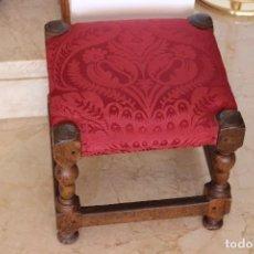 Antigüedades: BANQUETA MALLORQUINA SIGLO XVII-XVIII. Lote 98641951