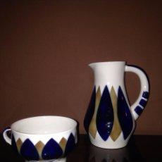 Antigüedades - JARRA Y TAZA SARGADELOS - 98651719